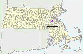Map of Needham
