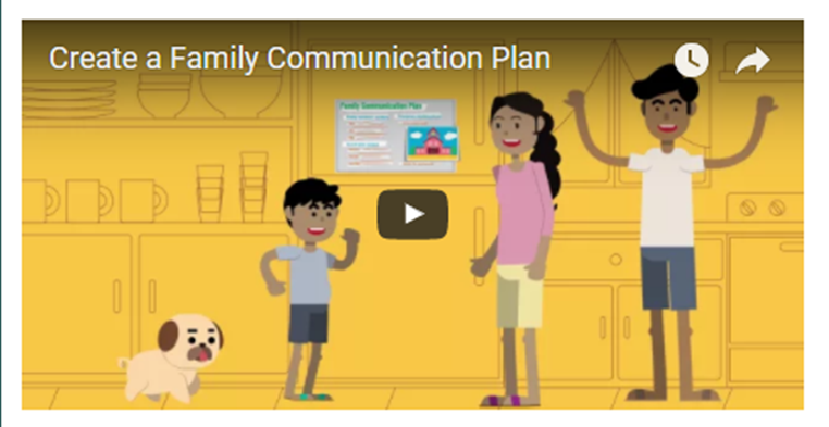 Create a Family Communication Plan Opens in new window