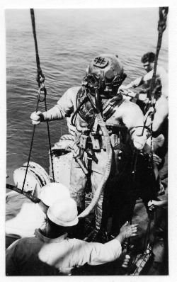 Diver - Rescue of the USS Squalus