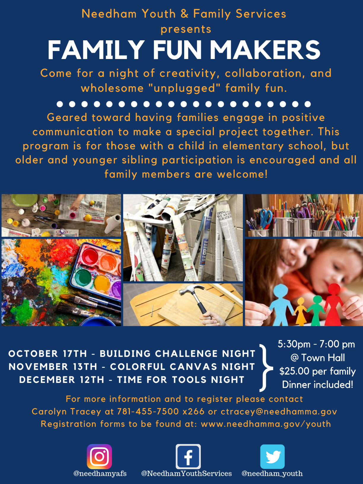 Family Fun Makers Flyer 2019