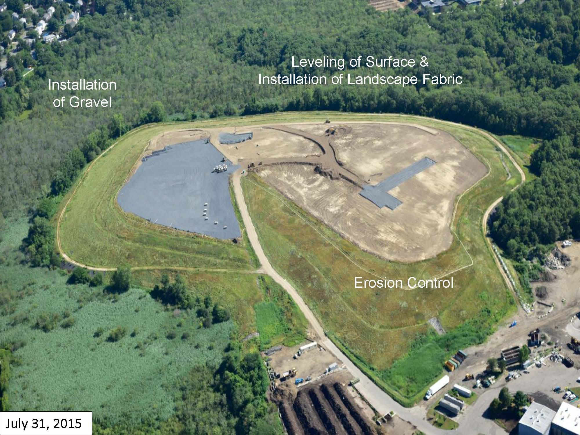 Page 3 of the Green Needham Presentation of the Solar 1 Landfill Project