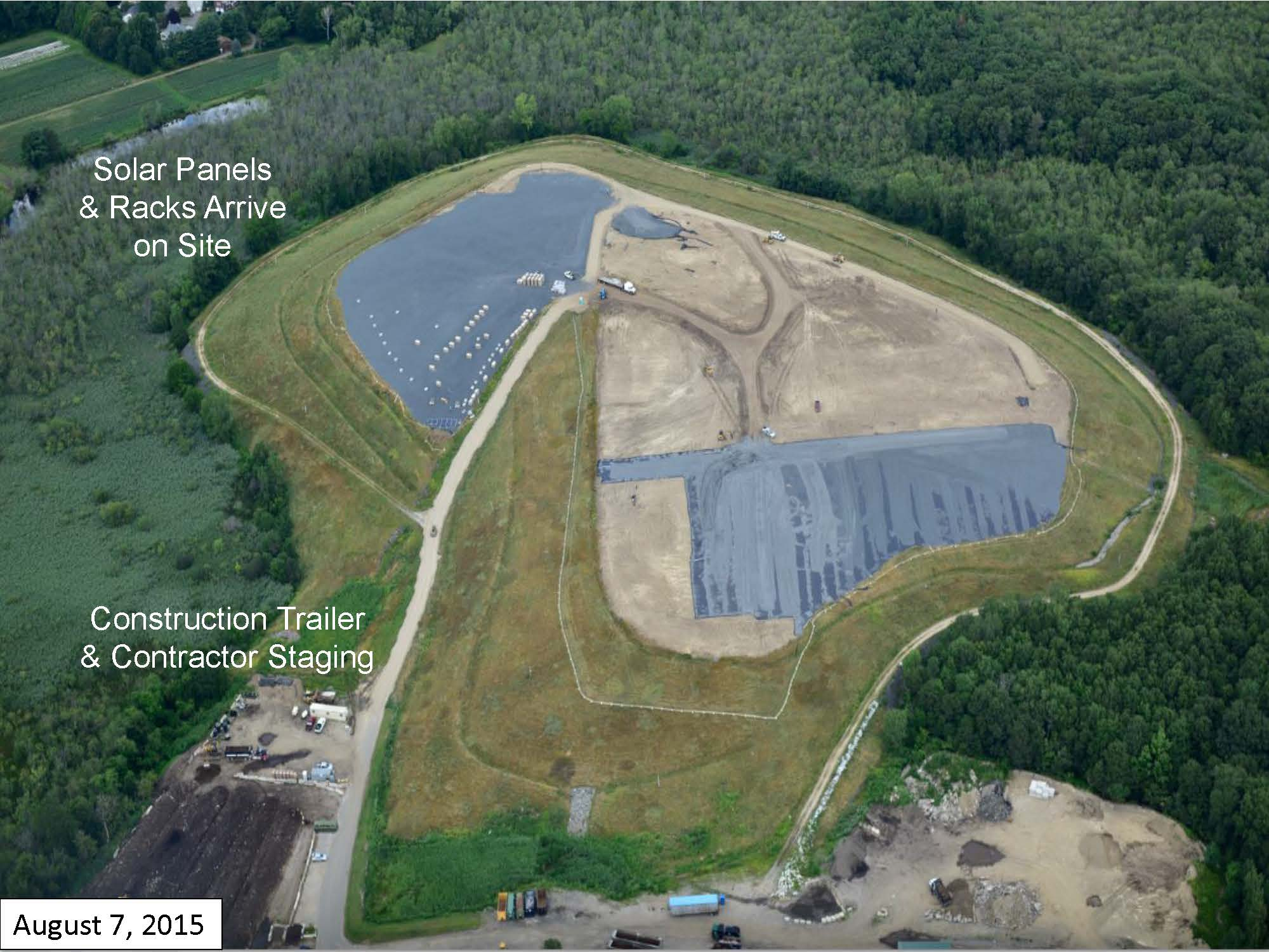 Page 4 of the Green Needham Presentation of the Solar 1 Landfill Project