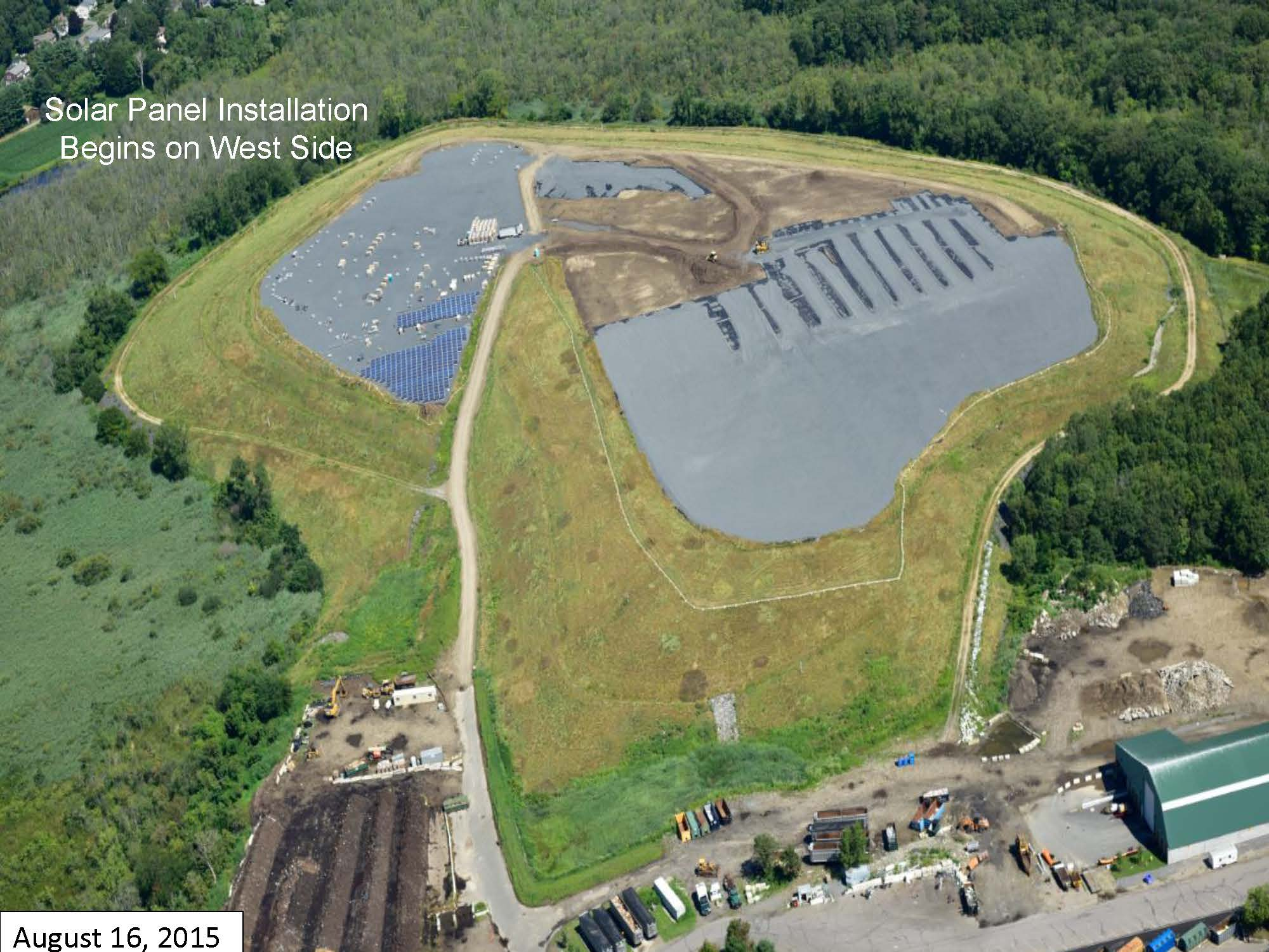 Page 5 of the Green Needham Presentation of the Solar 1 Landfill Project
