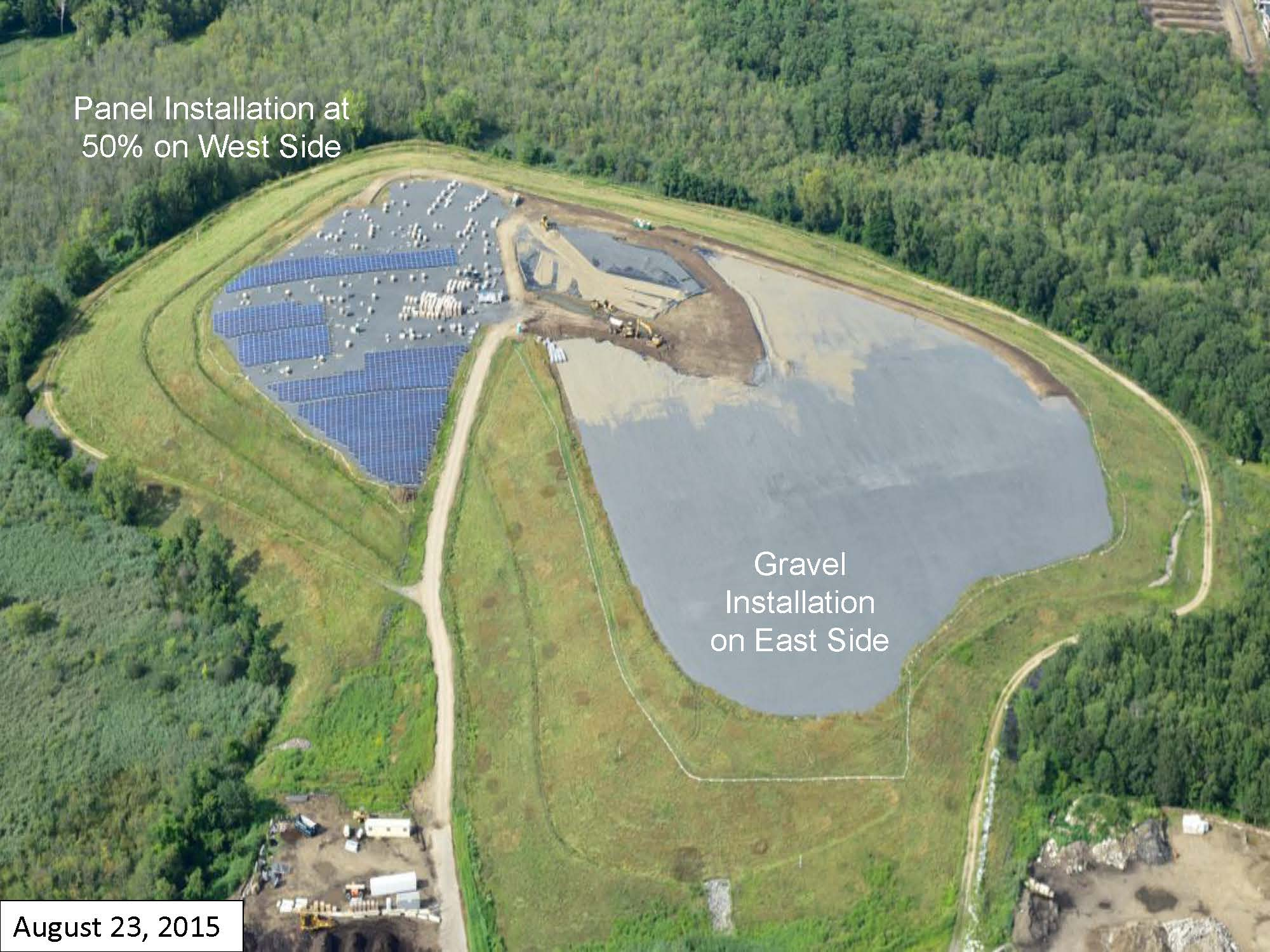 Page 6 of the Green Needham Presentation of the Solar 1 Landfill Project