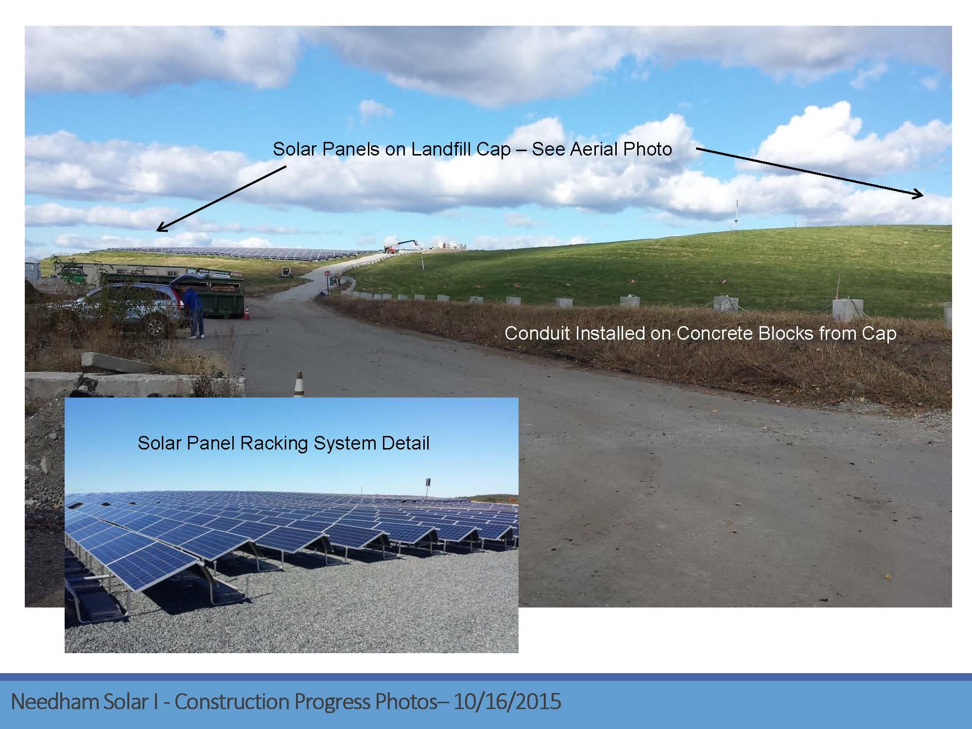 Page 10 of the Green Needham Presentation of the Solar 1 Landfill Project