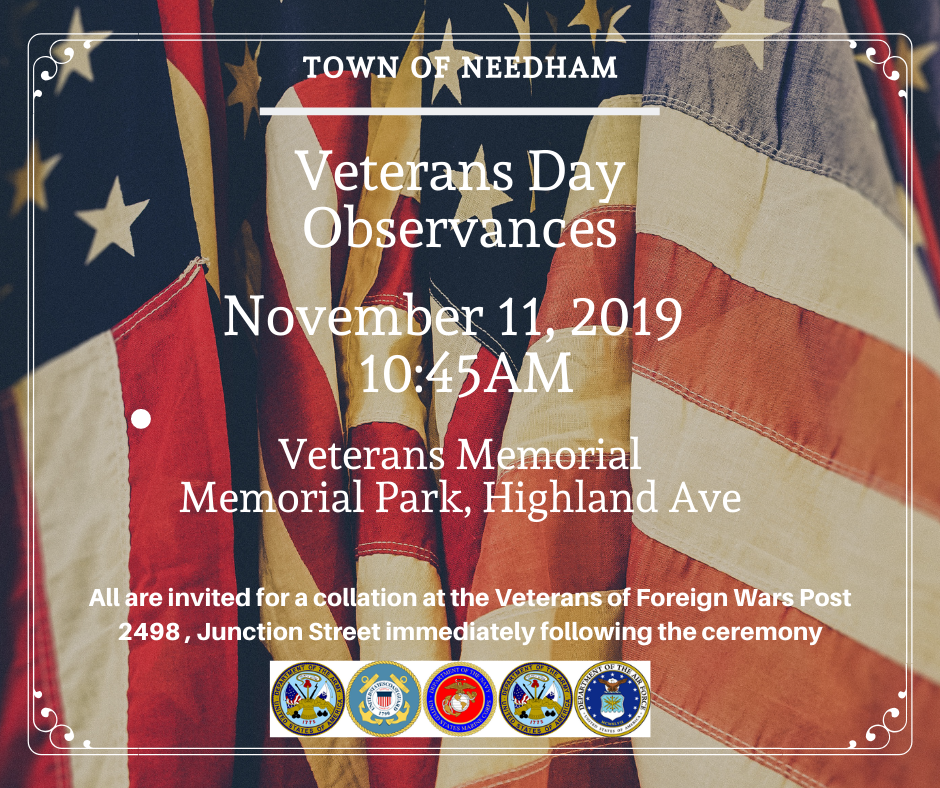 Veterans Day 2019 Flyer